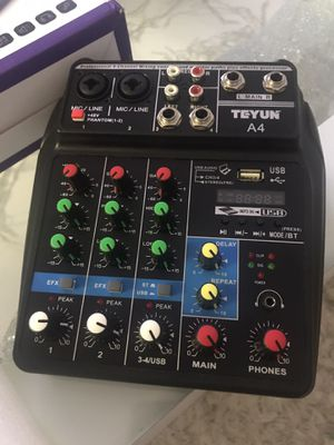 Professional 4-channel mixing console DJ (new) for Sale in Miami, FL