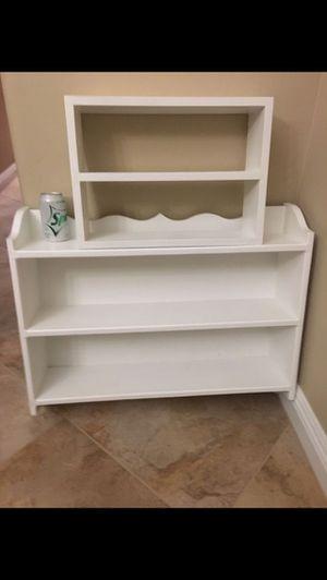 2 White Wall Shelves Small - $10 Medium - $25 for Sale in Phoenix, AZ