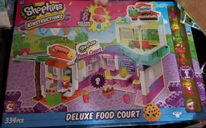 Shopkins Legos Deluxe Food Court Set - NEW! for Sale in Gainesville, VA