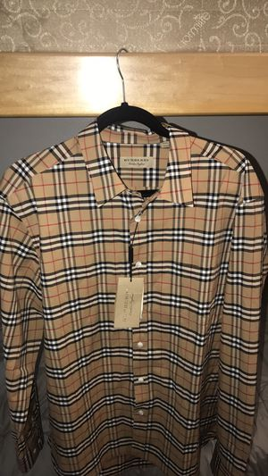Burberry button down for Sale in Moreno Valley, CA