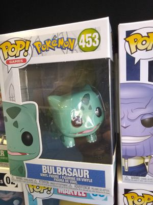 Funko Pop Pokemon Bulbasaur and Charmander! for Sale in Chantilly, VA
