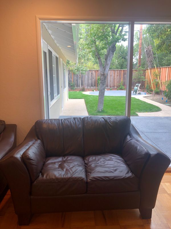 FREE Leather sofa & loveseat