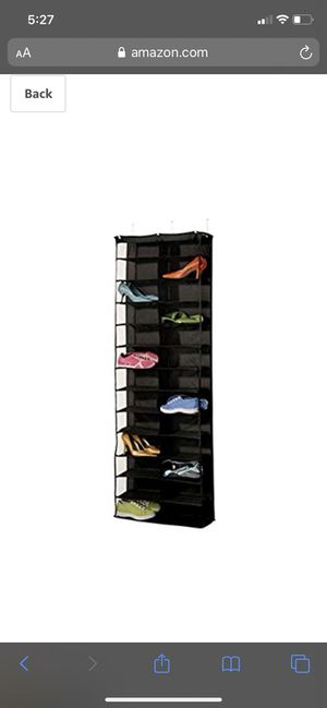 Hanging Shoe Organizer for Sale in Fort Lauderdale, FL