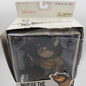 NEW! Mcfarlane Toys Where The Wild Things Are Series - Moishe Figure Open Box for Sale in Rancho Palos Verdes, CA