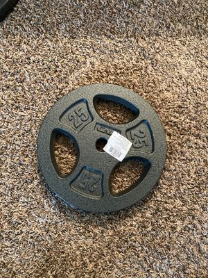 25 lb plate weights for Sale in San Antonio, TX