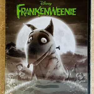 Disney Tim Burton Frankenweenie Movie DVD Never Opened for Sale in North Ridgeville, OH