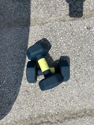 All in motion 15 lb weights (30 lbs In total ) for Sale in Chicago, IL