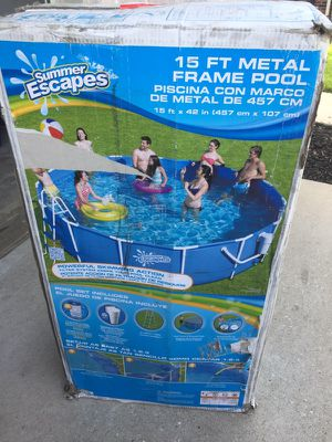Above ground pool 15 foot for Sale in Humble, TX