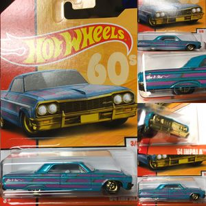 Hot wheels 64 Chevy impala low rider collectible die cast toy car $8 obo trade Hotwheels Honda Nissan Datsun Subaru Mazda Toyota for Sale in Colton, CA