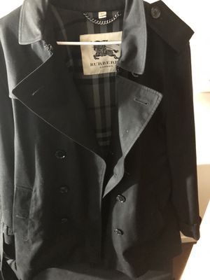 Burberry Trench Coat - size 54 for Sale in Seattle, WA