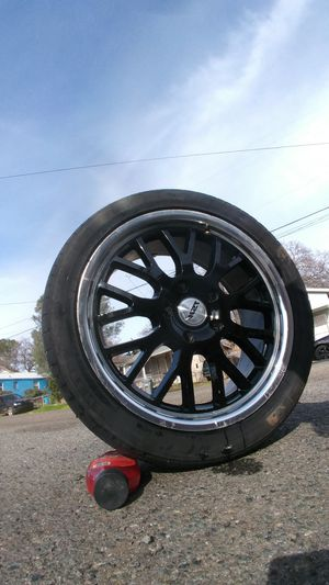 Rims size 18. 5 lug chevy for Sale in Oroville, CA
