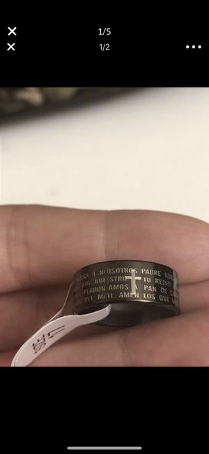 Prayer Unisex Ring - Stainless Steel- New- Jewelry- Sizes-Prayer for Sale in Glendale, CA