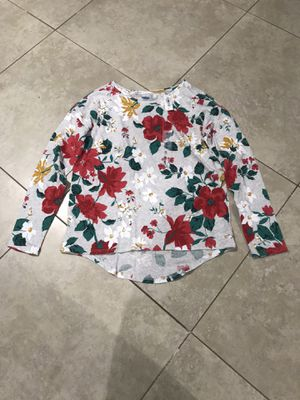 Old Navy Girl's Flowered Long Sleeve Blouse Size XL (14) for Sale in San Diego, CA