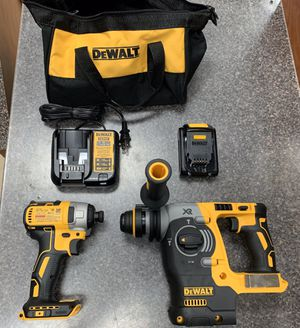 Dewalt SDS Brushless Hammer and impact drill for Sale in Port St. Lucie, FL