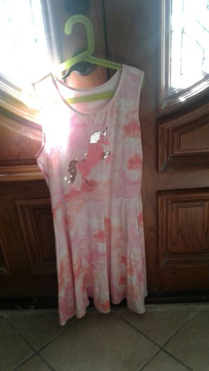 Brand new pink dress with a unicorn on it for Sale in Jurupa Valley, CA
