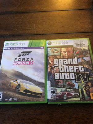 2 Xbox 360 games for Sale in Wrentham, MA