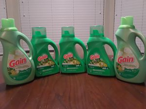 Gain Detergent and Fabric Softener for Sale in Phoenix, AZ
