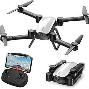 SIMREX X900 Drone 【Optical Flow Positioning】 with 1080P HD Camera, Altitude Hold Headless Mode, Foldable FPV, WiFi Live Video 3D Flips 6axis RTF for Sale in Syosset, NY