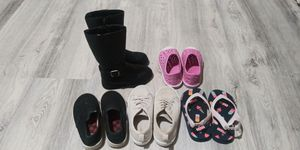 2 -3 year girl toddler shoes and boots for Sale in Bellevue, WA