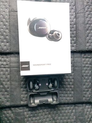 Bose soundsport free Bluetooth earbuds airpods style for Sale in Las Vegas, NV