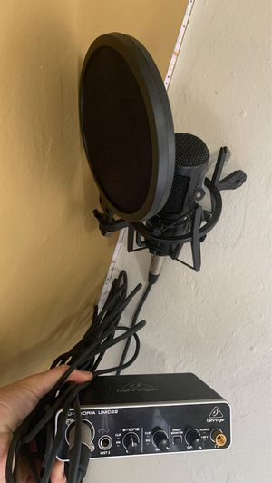 Interface and microphone for Sale in San Diego, CA