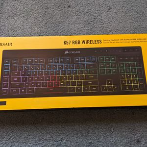 Corsair K57 Wireless Keyboard for Sale in Wickliffe, OH