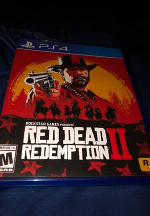 Red dead redemption 2 for Sale in Dallas, TX