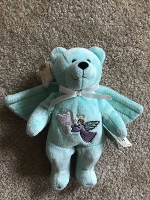 Tooth Fairy bear stuffed animal with tooth pocket for Sale in Austin, TX