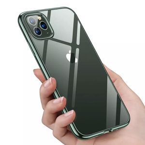 Cases for iPhone 12 11 Pro Max Xs XR ,Ultra Slim Thin Clear Soft Premium Flexible Chrome Bumper Transparent TPU Back Plate Cover for Sale in Mount Airy, NC