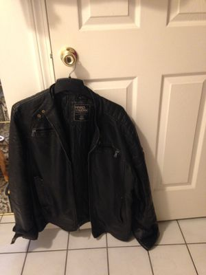 Hot Leathers Motorcycle Riding Jacket Mens Size 44 Just Reduced for Sale in Cumberland, RI