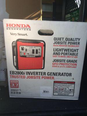 Honda generator for Sale in Boston, MA