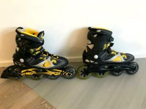 Blade runner roller blades (size 6) for Sale in Fenwick, MI