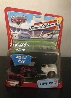 Disney PIXAR Cars ELVIS RV diecast MEGA SIZE RaceORama motorhome for Sale in Kissimmee, FL
