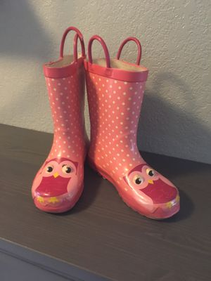Girls Rain Boots size 11/12 for Sale in Fresno, CA