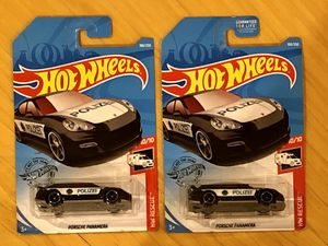Hot Wheels Porsche Panamera Polizei Lot of 2 for Sale in Fairfax, VA