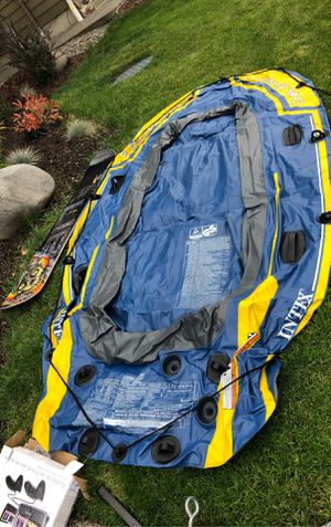 Intex 3 person Inflatable boat for Sale in Bonney Lake, WA