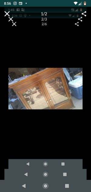 Vintage china cabinet for Sale in Mesquite, TX