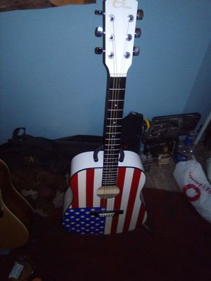 American flag guitar for Sale in Spring Valley, CA