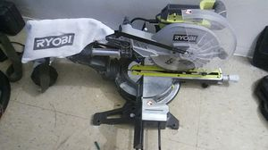 RYOBI Brushless sliding miter SAW for Sale in New York, NY