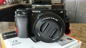 Sony A6000 and Meike battery grip for Sale in Smyrna, TN