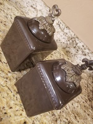 Set of 2 canisters for Sale in Phoenix, AZ