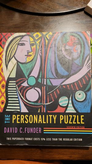 The Personality Puzzle 7th edition, David C. Funder for Sale in Santa Ana, CA