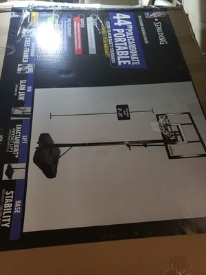 Spalding official portable basketball hoop for Sale in Surprise, AZ