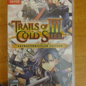 Trails Of Cold Steel 3-Nintendo Switch for Sale in Redmond, OR