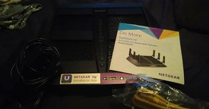 Netgear nighthawk x6 triband router for Sale in Tigard, OR
