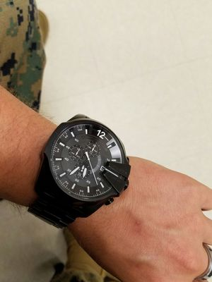 Diesel watch back master cheif for Sale in Fort Leonard Wood, MO