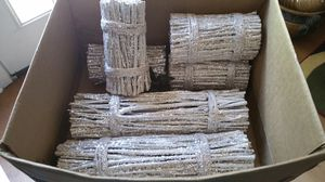 Sparkly logs used in my wedding for Sale in Bauxite, AR