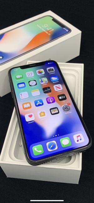 iPhone X 64gb Unlocked for Sale in Scottsdale, AZ