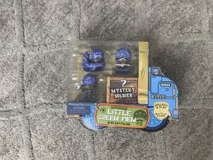 New Awesome Little Green Men 4pc Series 2 Blue Battalion Action Figures Collect for Sale in Portland, OR