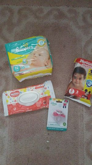 Pampers huggies diapers and more for Sale in Stuart, FL